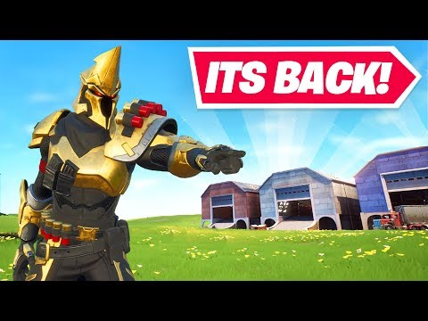 , title : 'Welcome to Fortnite Season X! (DUSTY DEPOT IS BACK)'