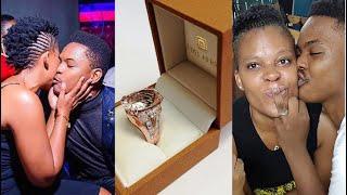 Must Watch: Wow! Zodwa Wabantu Proposes To Her Boyfriend At Eyadini