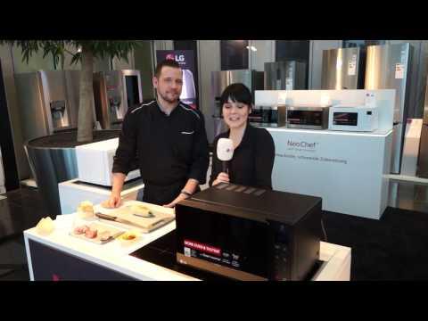 Kochen mit LG Neochef Mikrowellen: MH6535GIS und MH6535GIH | Roadshow 2017