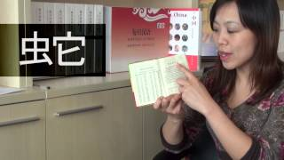 How to look up a word in a Chinese dictionary?