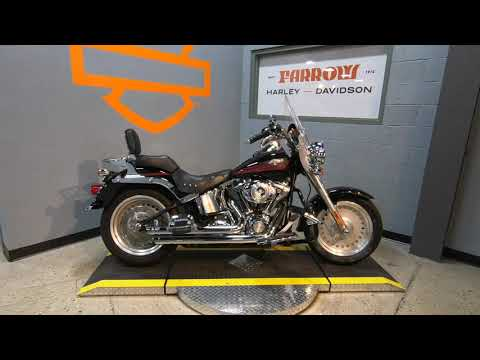 2007 Harley-Davidson Fat Boy FLSTF