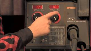 350MP MIG Welder Settings
