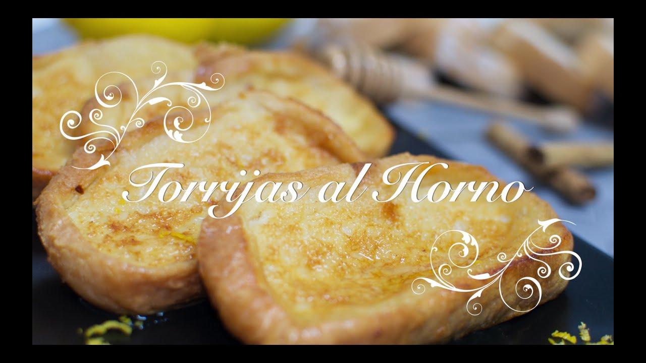 Torrijas de pan al Horno | Torrijas al Horno | Torrijas en el Horno | Torrijas Faciles y Ligeras