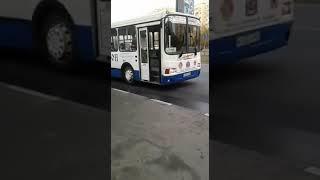 """Маршрут №96 ОАО АТП-3 """"Транссервис"""", 21.10.2018"""