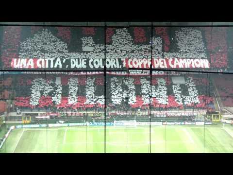 AC Milan vs Arsenal (Mosaic & fans)