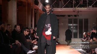YOHJI YAMAMOTO Paris Fashion Week Men's Fall/Winter 2018-19