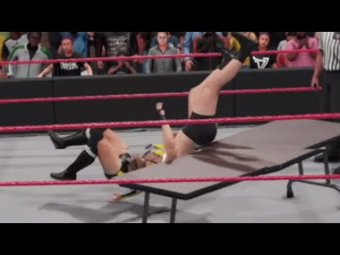WWE 2K19 RAW RONDA ROUSEY VS NIKKI CROSS (W/ALEXA) / SASHA BANKS ATTACK RONDA ROUSEY
