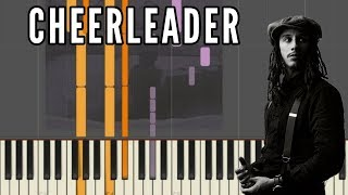 JP Cooper   Cheerleader | Piano Tutorial Synthesia