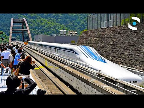 Want To Ride In the World's Fastest Magnetic Bullet Train?