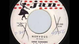 <b>Gene Summers</b> & His Rebels  Nervous 1958
