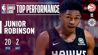 5'5″ Junior Robinson Comes Up BIG for the Atlanta Hawks In The 2018 MGM Resorts Summer League