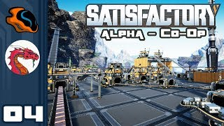 Let's Play Satisfactory [Alpha - Co-Op w/ Aavak] - PC Gameplay Part 4 - Can Wander Into Space?