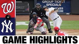 ナショナルズvs.ヤンキースゲームのハイライト(5/9/21)| MLBのハイライト