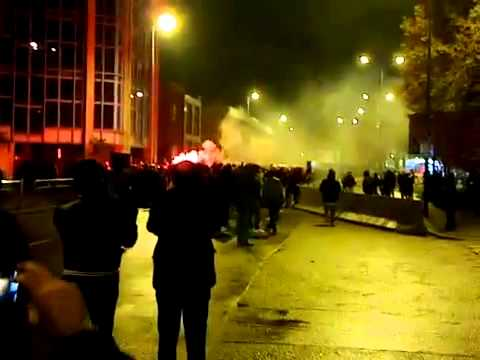 300 angry AC Milan fans blocked players from leaving the San Siro until Kaka talked them down