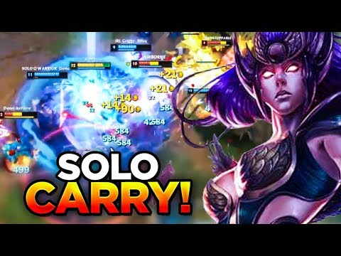 DIANA SOLO CARRY IN SOLO QUEUE | LoL | League of Legends