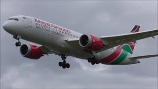 Boeing 787 Dreamliner, 10x Arrivals at London Heathrow Airport, LHR!