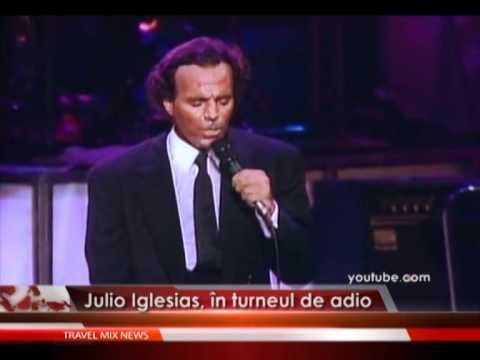 Julio Iglesias, în turneul de adio