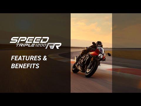 2022 Triumph Speed Triple 1200 RR in Belle Plaine, Minnesota - Video 3