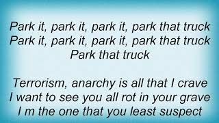 Anvil - Park That Truck Lyrics