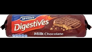 Food for Thought: McVitie's Chocolate Digestive Biscuits
