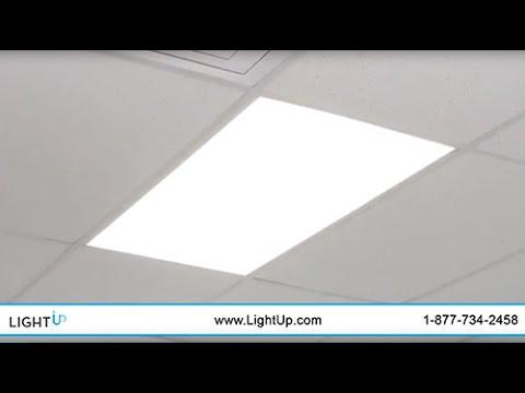 LED Flat Panels – Drop Ceiling LED Flatpanels