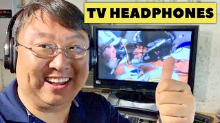 Best Cordless Headphones for your TV by Zanchie Review