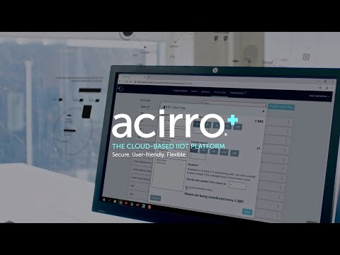 Get insights from the cloud with acirro+