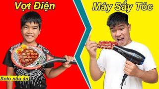 Trẻ Trâu Và Cuộc Thi Nấu Ăn Bằng: Máy Sấy Tóc, Vợt Điện, Bàn Ủi   TQ97