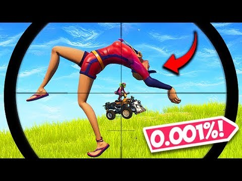 *ONE in 1 BILLION* ACCIDENTAL SNIPE! - Fortnite Funny Fails and WTF Moments! #431