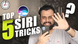 Top 5 Siri Tricks, Commands & Settings in Hindi - You must know