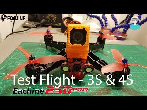 Eachine Racer 250 PRO - Test Flight