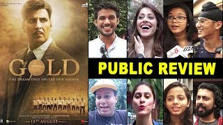 GOLD Movie Independance Day Public REVIEW- Super HIT- First Day First Show- Akshay Kumar,Mouni Roy