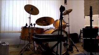 Video AfterCROW preparing for recording drums