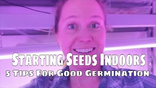 Starting Seeds Indoors: 5 Tips For Good Germination