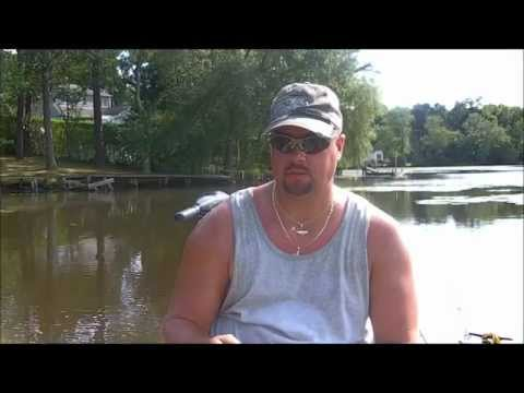 Get Reel Bass Fishing on Forge Pond 8/13/11