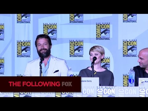THE FOLLOWING | James Purefoy Makes a Surprise Appearance at Comic-Con