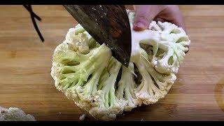 花菜吃了30年,这样做最好吃,做法简单又解馋,比吃肉都过瘾!