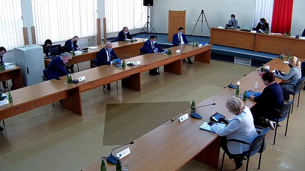 XX Sesja Rady Powiatu w Starachowicach 16.04.2020r.