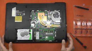 Medion Erazer Gamer Upgrade SSD Arbeitsspeicher P76xx Öffnen