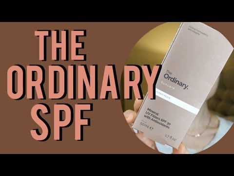 The Ordinary Sunscreen Review| Dr Dray