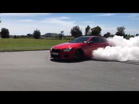 BMW M6 Burnout