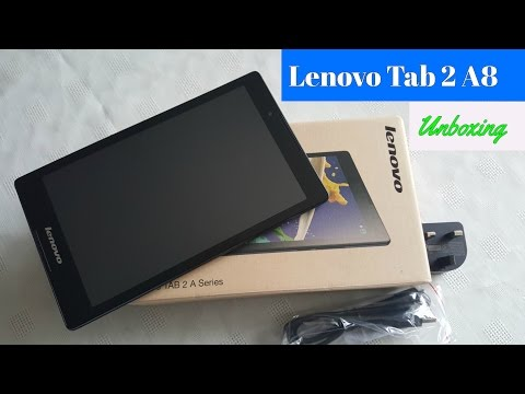 Lenovo Tab 2 A8-50F A Series Unboxing