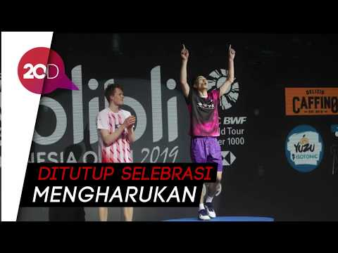 Sengit! Chou Tien Chen Kalahkan Antonsen di Final Indonesia Open
