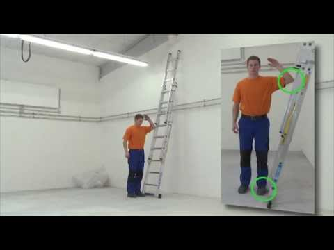 Zarges Schiebeleiter Everest 2DE 2x10 Sprossen-youtube_img