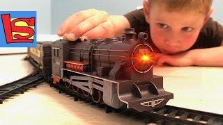 Поезд и Железная дорога видео для детей
