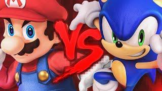 Mario VS. Sonic 2   Duelo de Titãs Part. Dukrl