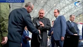 Вице-премьер Дмитрий Рогозин посетил Новгородскую область с рабочим визитом