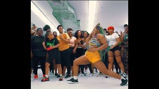 Zinny X Ft Gracious K   Instruction [Dance Video] WOSA!