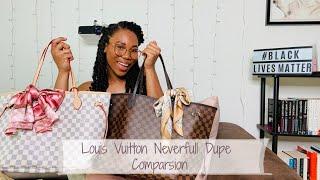Louis Vuitton Neverfull Dupe  Dupes/Replicas  Comparison    Designer Dupe