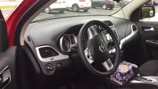 How to unlock Dodge Journey 2016 when batterie died and key doesn't work.